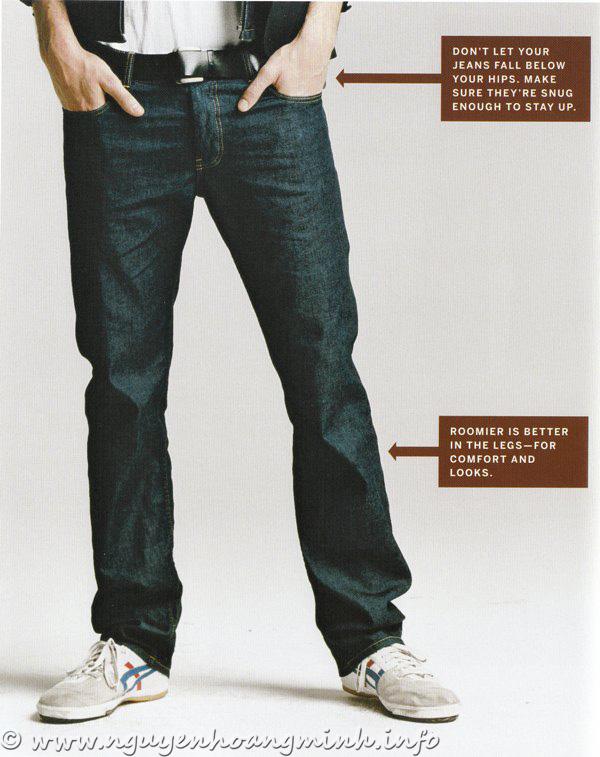 Chọn một chiếc quần Jean dễ hơn chọn 1 quần tây